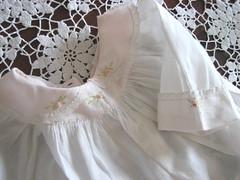 Vintage Baby Dress (ciderantiques) Tags: baby vintage dress ffm