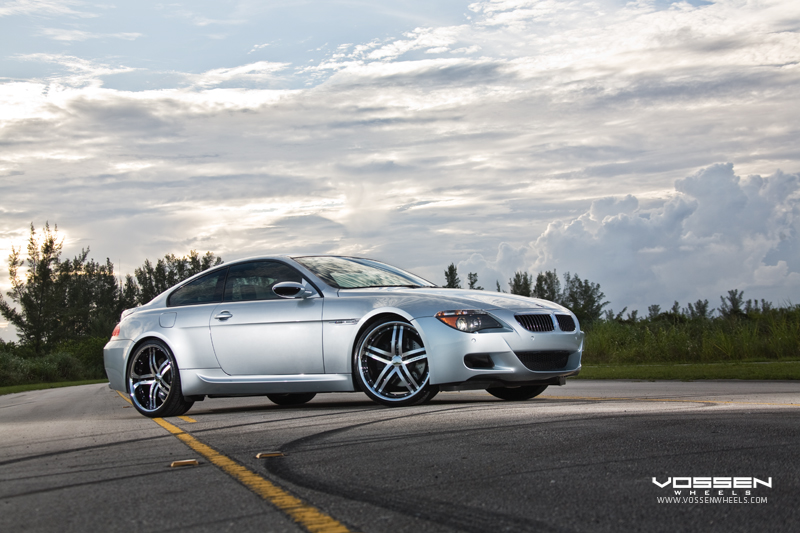 BMW M6 on Vossen VVS078 Wheels