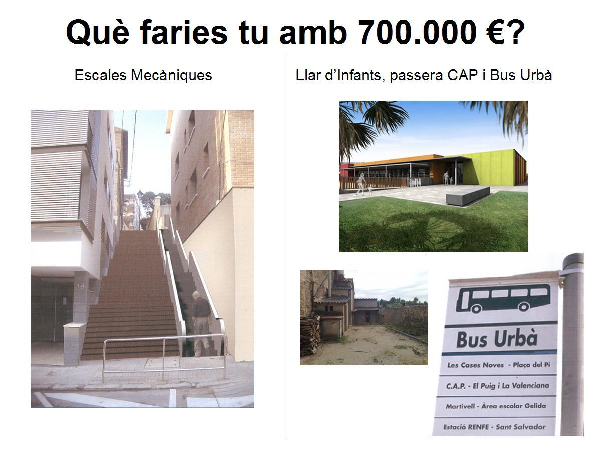 Què faries tu amb 700.000 Euros?