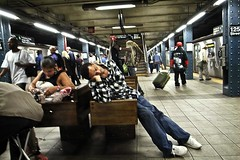 BUSY (joewig) Tags: nyc people urban subway interestingness streetphotography busy 125th ricohgrd