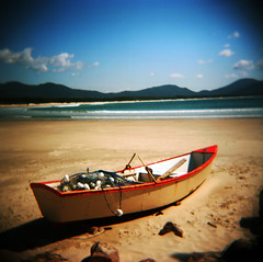 Brasil (Etienne Despois) Tags: travel beach brasil square holga