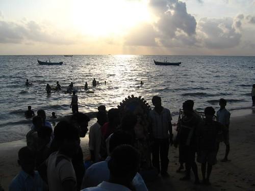 Vishwakarma Puja (Manattala Beach, Kerala, India)