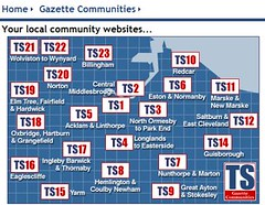 Gazette Communities map