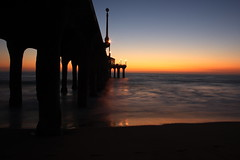 (mycaptureoftime) Tags: california longexposure sunset manhattanbeach sooc availableforsale mywinners theunforgettablepictures