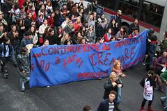 Continueremo ad avanzare fino a farvi tremare (GhostSwann) Tags: rome roma politics scuola onda movimentostudentesco scioperogenerale decretogelmini l13308