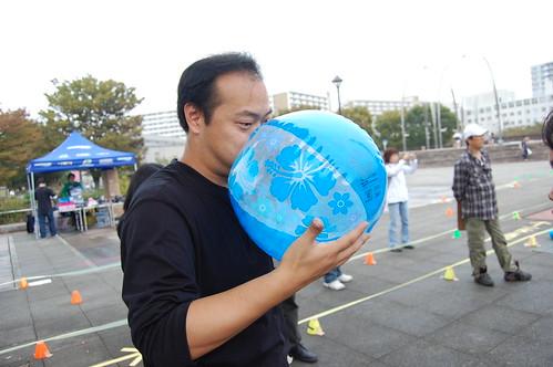 [光が丘インラインフェスティバル2008]パイロンアタック準備中