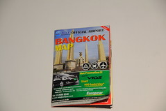 Official Airport Bangkok Map