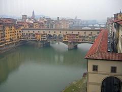 Down Arno from Uffizi (vtavgjoe) Tags: river florence uffizi