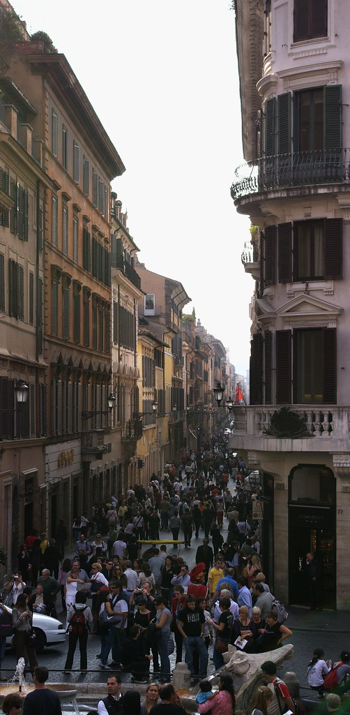 From Spanish Steps