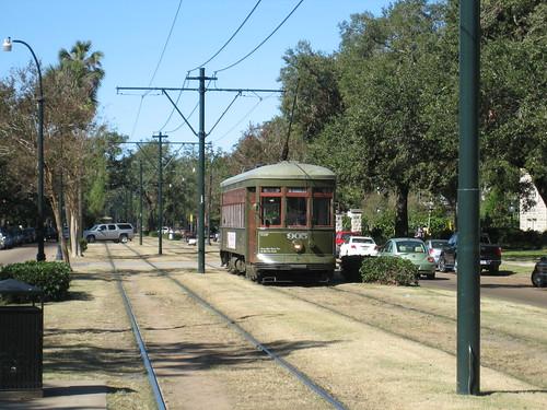 Loyola university tram
