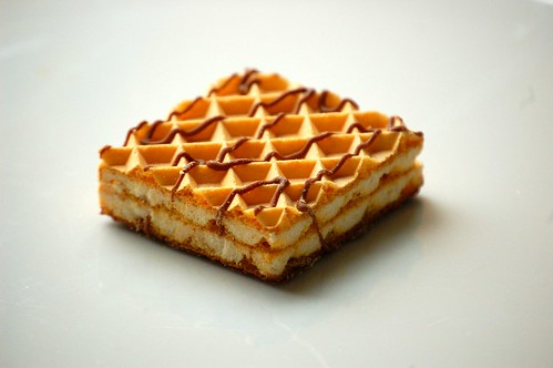 Like a sugah wafer, only better.