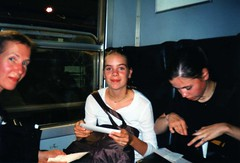 On The Train (Quetzalcoatl002) Tags: travel friends people italy rome festival train holidays goodtimes scsm