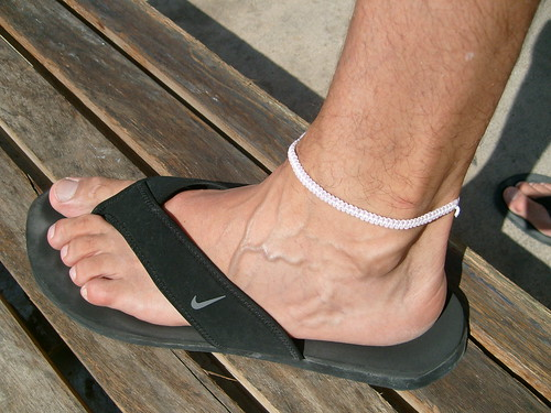 ... : Most interesting photos from Men's nice toes in flip flops pool