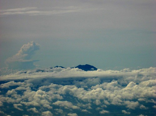 Mt. Kanlaon from the plane to Bacolod