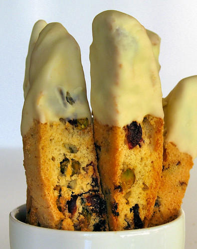 Cranberry and Pistachio Biscotti 5350 R