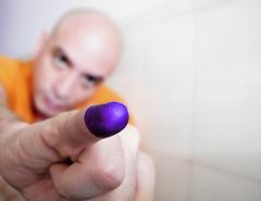 Misin Dedo Adentro (Caps!) Tags: venezuela caracas noviembre explore 23 dedo tinta elecciones municipio voto votar alcalde gobernador regionales meique indeleble 23n