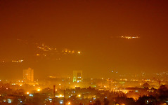 Islamabad Skyline at Night (friend_faraway ...Back Home~) Tags: city pakistan building skyline architecture nightshot islamabad southasia nightimage shakarparian 5photosaday