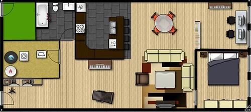 potential floor plan