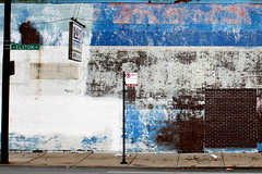 Blues (Brian Hagy) Tags: street blue chicago paint decay no parking il elston streetshot featured