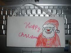 H's Christmassy paper handbag