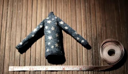 Micro suéter da Coraline