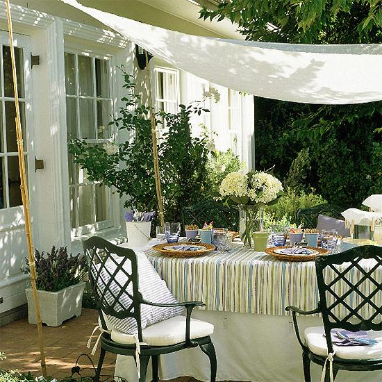 12 Great Ideas For A Modest Backyard: Vanilladecor: Tarasy I Jadalnie .... Znowu