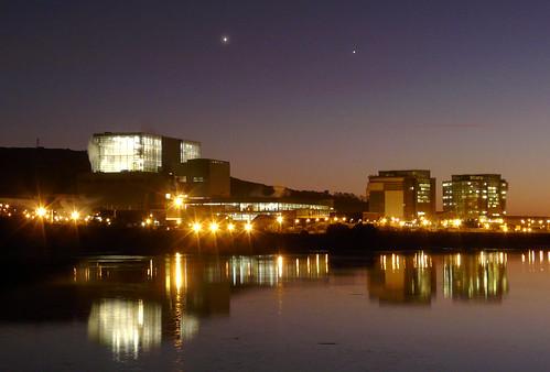 Hunterston at night 06Dec008