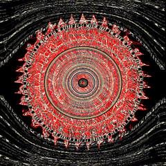 redeye (ginhollow) Tags: abstract photoshop digitalart receipt barcode awake insomnia awardtree amazingeyecatcher