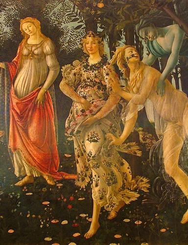 La Primavera, Botticelli