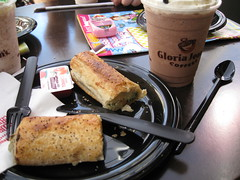 Breakfast at Gloria Jeans