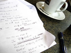 Checking one line (trovatore47) Tags: coffee mathematics trivial ideals settheory atpeets onthenaturalnumbers