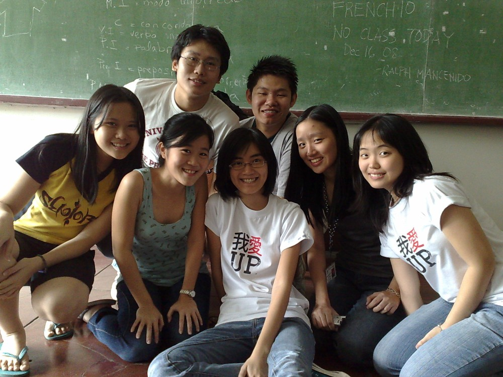 UP CSA 2008-2009 Executive Council