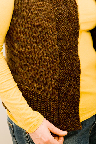 Tess Vest: Side Panel Detail