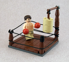 The Boxer (Titolian) Tags: jake lego muscle ring boxer gyllenhaal dsandbag