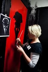 Painting (Synne Tonidas) Tags: oslo painting diy concert punk blitz maling autonomy autonomos youthhouse blitzpning