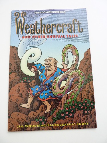 Weathercraft and Other Unusual Tales by Jim Woodring (Free Comic Book Day 2010) - front