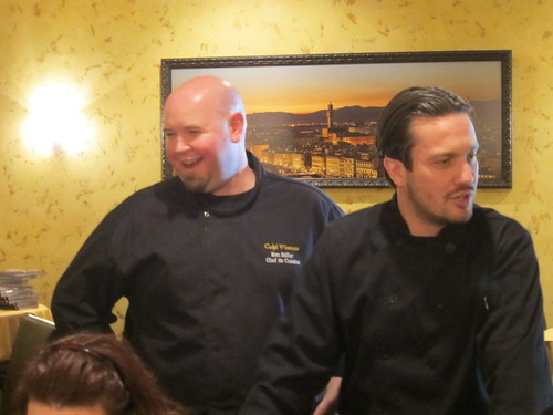 Chef Fabio Viviani and Executive Chef