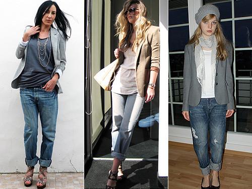 moda calças boyfriend 2011
