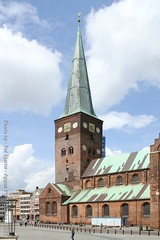 Aarhus Cathedral (Appaz Photography ) Tags: rhus city town spring cathedral rhusdomkirke attraction religious religion denmark touristattraction turistattraktion canon appazphotography aarhus beautifulplaces kirke churches church godshouse by danmark