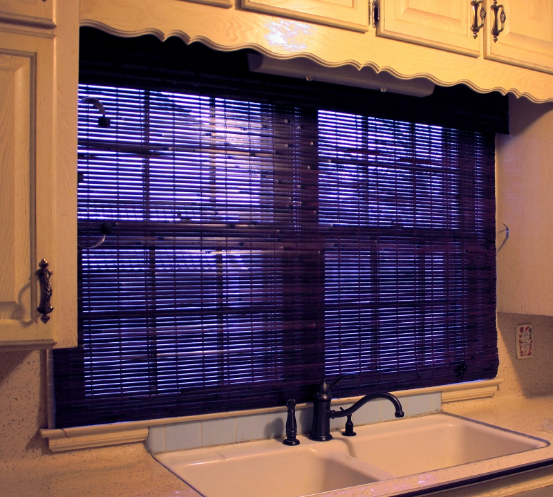 Kitchen Sink Window after