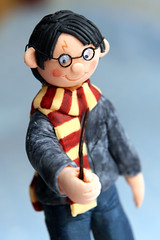 Harry Potter Cake (MagpieJo's) Tags: cake harry potter books stack