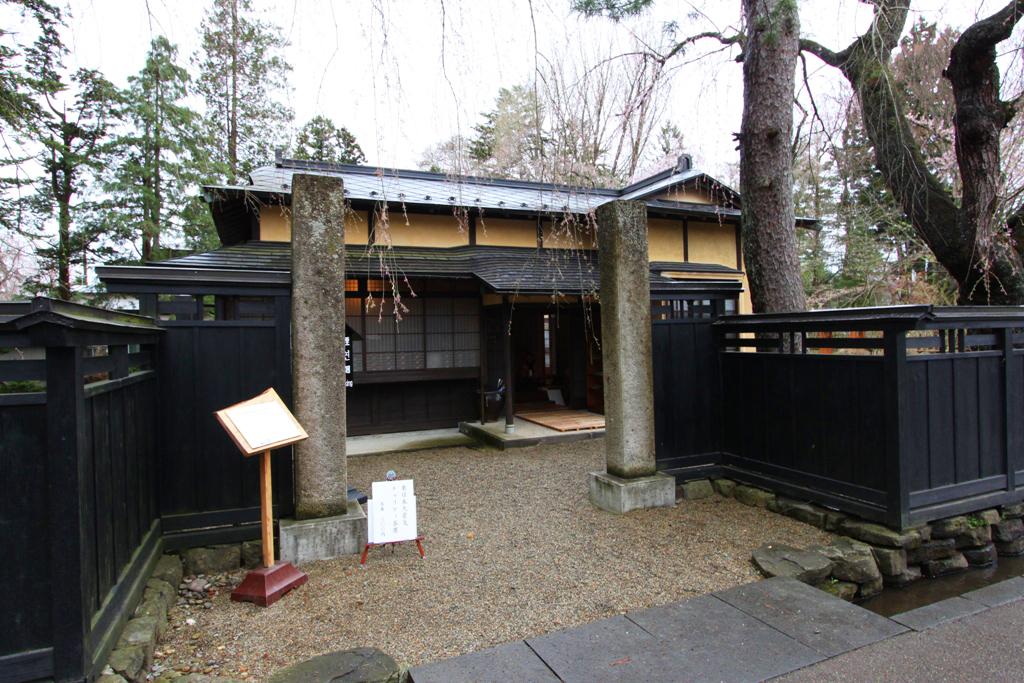 Tohoku Trip 1st day in Akita prefecture, Kakunodate (1)