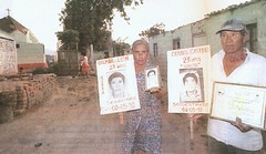 Padres de víctimas del Grupo Colina