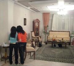 Run a way guests (Banafsh*) Tags: girls feast carpet women iran faceless bags ایران iranians زنان فرش قالی دختران پارتی مهمانیایرانی