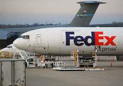 FedEx Express McDonnell Douglas MD-11F (N619FE) (Michael Davis Photography) Tags: plane airplane photography nashville aviation flight cargo fedex md11 mcdonnelldouglas kbna cargoplane cargojet fedexexpress cargoramp airportramp n619fe