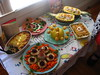 Mid-Century Supper Club Potluck (sparkleneely) Tags: party food ball creative fabulous potluck march08 midcenturysupperclub astroweenieballmidcentury clubpotluckmarch 08partyfoodastro