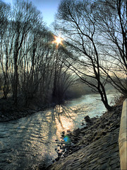 Low winter sun on the River Blies (Rich2012) Tags: germany deutschland countryside landschaft hdr saarland homburg gettyimagesgermanyq1