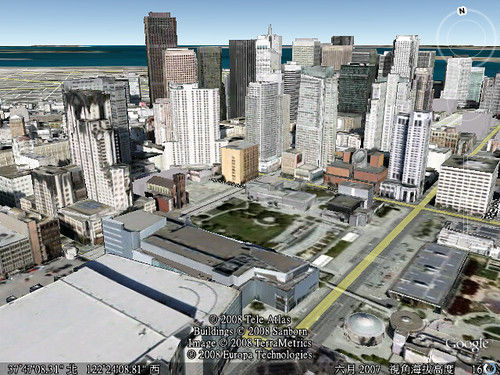 Google Earth - Photo-realistic Buildings