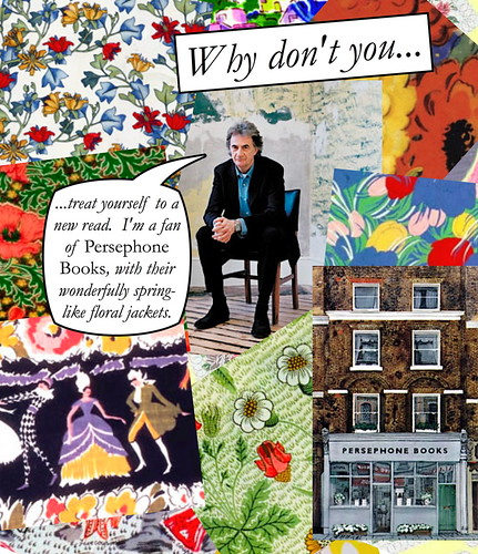 Paul Smith Quote: All Patterns are Vintage and from Persephone Book Jackets