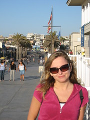 Kristina at Hermosa Beach (RPerro) Tags: kristina hermosabeach 2008disneyland